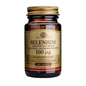 SOLGAR Selenium100mg 100tablets