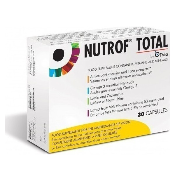 NUTROF TOTAL SOFT 30CAPS