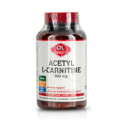 OLYMPIAN LABS - Acetyl L-Carnitine 500mg - 60caps