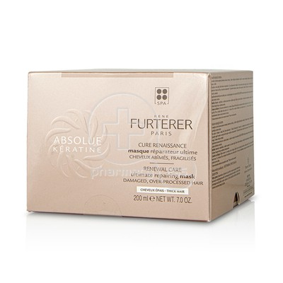 RENE FURTERER - ABSOLUE KERATINE Masque Reparateur Ultime Cheveux Epais - 200ml