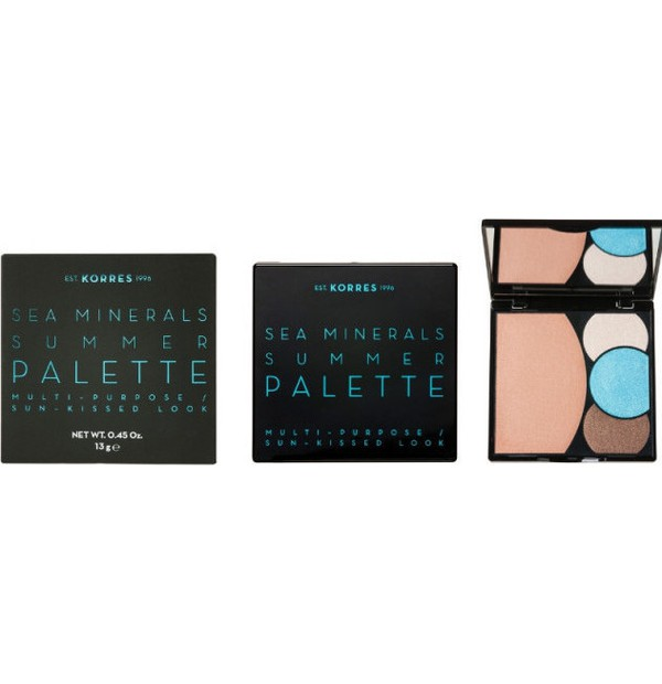 KORRES SEA MINERALS FACE+EYES BLUE WAVES 13GR