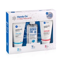 PANTHENOL EXTRA - PROMO PACK HANDS ON Hand Cream - 75ml, Intensive Hand Cream & Mask - 75ml ΜΕ ΔΩΡΟ MICROBE END Καθαριστικό Gel - 75ml