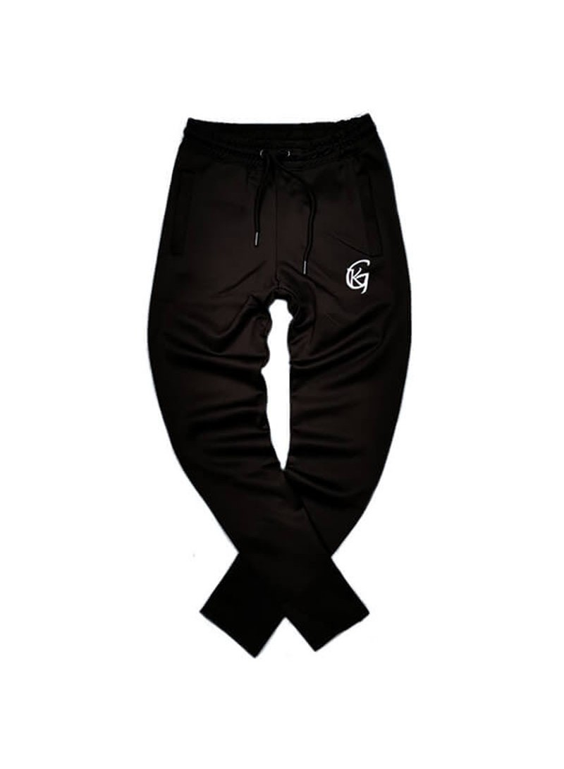 Gianni Kavanagh Black Scuba Joggers With GK Embroidery