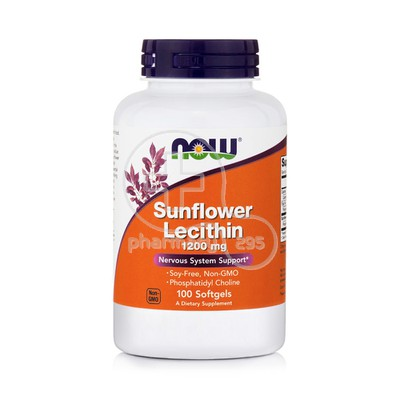NOW - Sunflower Lecithin 1200mg - 100softgels