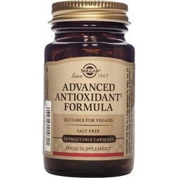 Solgar Advanced Antioxidant Formula Προηγμένη Φόρμουλα 30 Vegetable Capsules