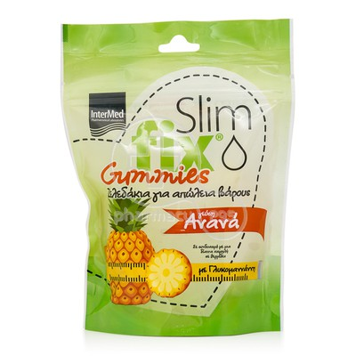 INTERMED - SLIM FIX Gummies με Γεύση Ανανά - 42gummies