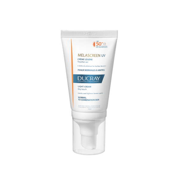 DUCRAY SUN MELASCREEN FACE SPF50 CREME LEGERE 40ML DRY TOUCH