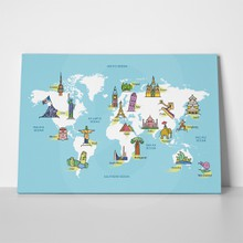 Famous landmarks world map 2 462890806 a