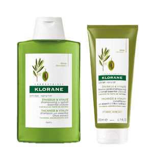 Klorane set shampoo 400ml   conditioner