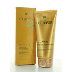 Rene Furterer Solaire Nourishing Repair Shampoo with Jojoba Wax For After Sun Use 200ml