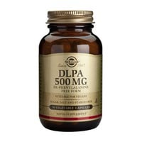 SOLGAR DLPA DL-PHENYLALANINE 500MG 50CAPS