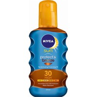 Nivea Sun Protect & Bronze Oil Spray SPF30 200ml - Αντηλιακό Σώματος