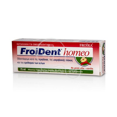 FROIKA - FROIDENT Homeo Apple-Cinnamon flavor Toothpaste 75ml