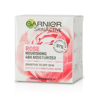GARNIER - SKIN ACTIVE Rose Nourishing 48h Moisturizer - 50ml PS