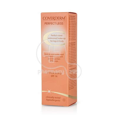 COVERDERM - PERFECT LEGS SPF16 (No8) - 50ml