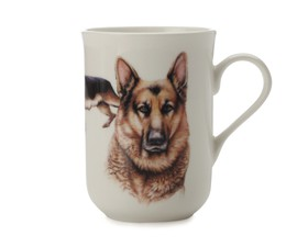 "Maxwell & Williams Κούπα ""German Shepherd-Κατοικίδια Σκυλιά"" 300ml. Cashmere Bone China"
