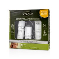 ATACHE - PROMO PACK C VITAL Set Active Serum - 15ml, Active Fluid - 30ml & Crema Hidro-Protector y Antioxidante - 50ml PN/PS