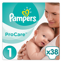 PAMPERS PROCARE PREMIUM PROTECTION ΜΕΓ 1 2-5KG  38TEM