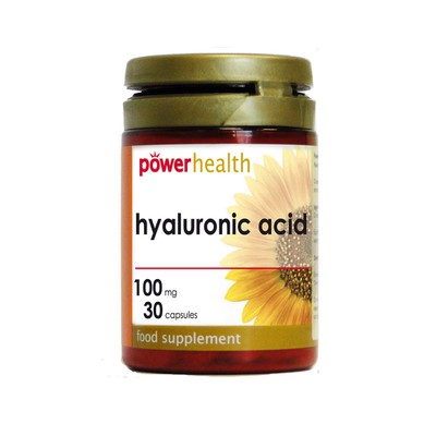 Power Health - Acid Hyaluronic 100mg - 30caps