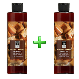 Bodyfarm Set Butter Caramel Αφρόλουτρο 1+1 Δώρο 2x250ml