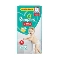 PAMPERS PANTS No4 (9-15KG) JUMBO PACK (52ΤΕΜ)