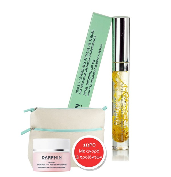 DARPHIN REVIVING LIP OIL GLOSS WITH CALENDULA PETALS 4 ML