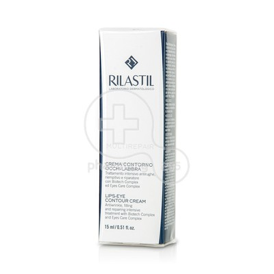 RILASTIL - MULTIREPAIR Lips - Eye Contour Cream - 15ml
