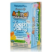 Natures Plus Animal Parade TOOTH FAIRY - Δόντια, 90 μασ. ταμπλέτες