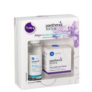 Panthenol extra face and eye cream 50ml micellar true cleanser 3 in 1 100ml enlarge