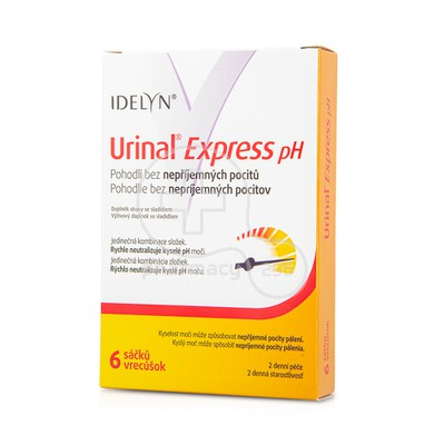 URINAL - Urinal Express pH - 6sachets