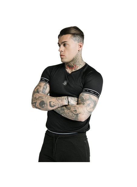 SikSilk Active Tech Tee - Black