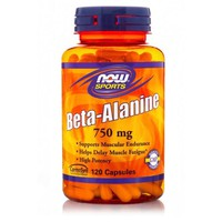 NOW SPORTS BETA ALANINE 750MG 120CAPS