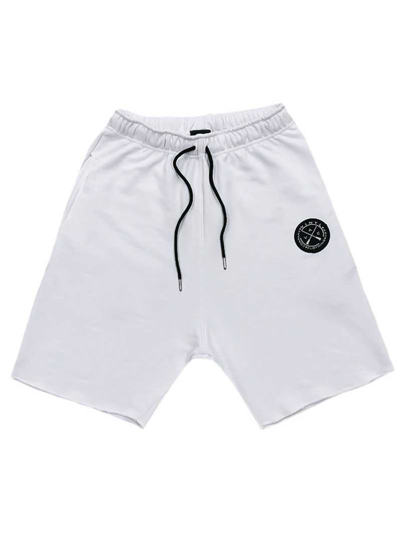 VINYL ART CLOTHING WHITE SHORTS