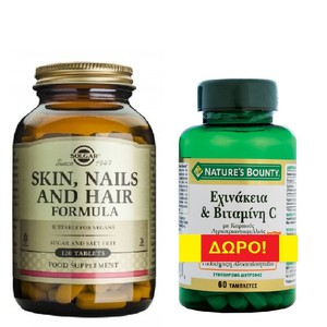 Solgar skin nails and hair formula 120s me doro echinacea natures bounty