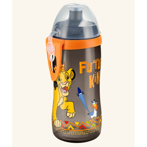 NUK Μπιμπερό junior cup PP lion king 36m+ 300ml ( 10.750.095 )