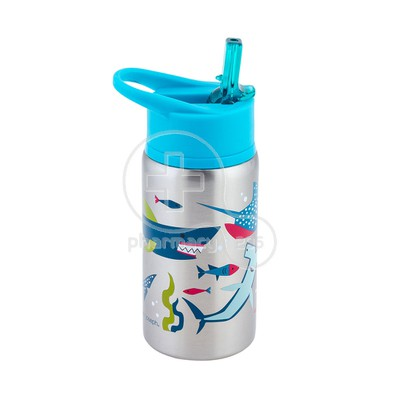 STEPHEN JOSEPH - Stainless Steel Water Bottle (Shark) - 532ml