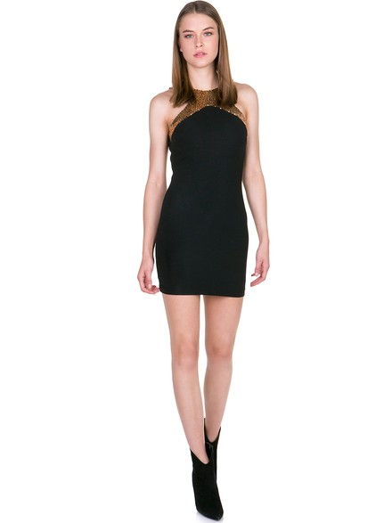 f5c0cbc6b3d Εφαρμοστό φόρεμα με παγίετα