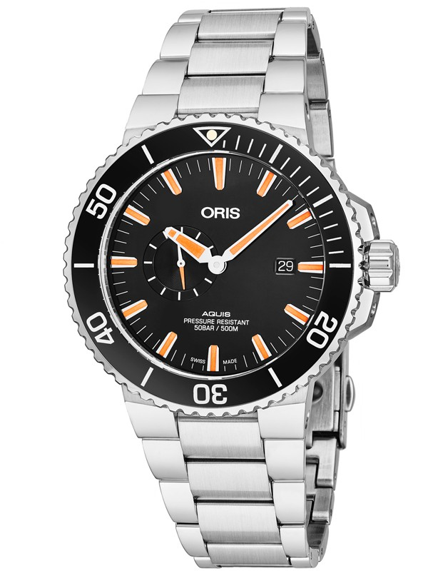 Aquis Small Second Date Automatic