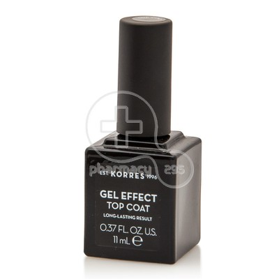KORRES - GEL EFFECT Top Coat - 11ml