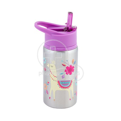 STEPHEN JOSEPH - Stainless Steel Water Bottle (Llama) - 532ml