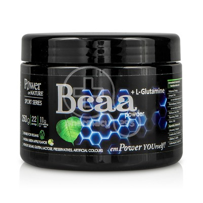 POWER HEALTH - POWER OF NATURE Sport Series BCAA & L-Glutamine Powder - 250gr