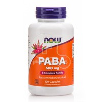 NOW - PABA 500mg - 100caps