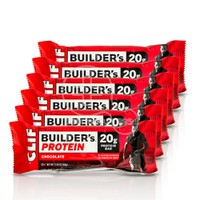 CLIF - PROMO PACK 6 ΤΕΜΑΧΙΑ CLIF BAR Builder's Protein Μπάρα Πρωτεΐνης Chocolate - 68gr