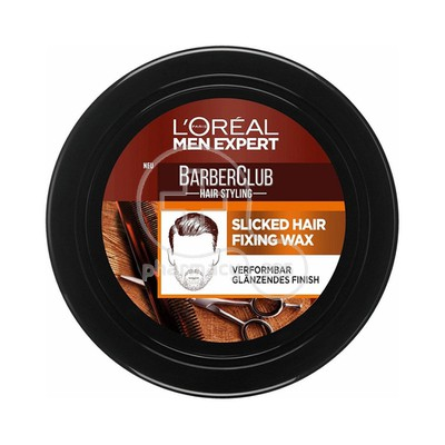 L'OREAL PARIS - MEN EXPERT BARBER CLUB Slicked Hair Fixing Wax - 75ml