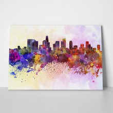 Los angeles watercolor 178759322 a