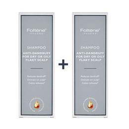 Foltene Pharma 1+1 ΔΩΡΟ Shampoo Anti Dandruff For Dry Or Oily Flaky Scalp Σαμπουάν Κατά Της Πυτιρίδας 200ml