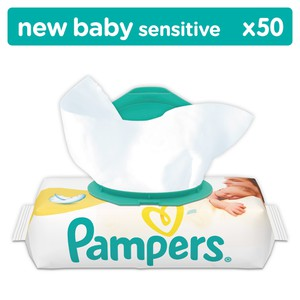Power image pampers b.wipes newbaby sens       12 50 81554142 4015400623496
