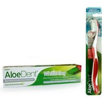 OPTIMA ALOEDENT WHITENING PASTE 100ML & FREE TOOTHBRUSH