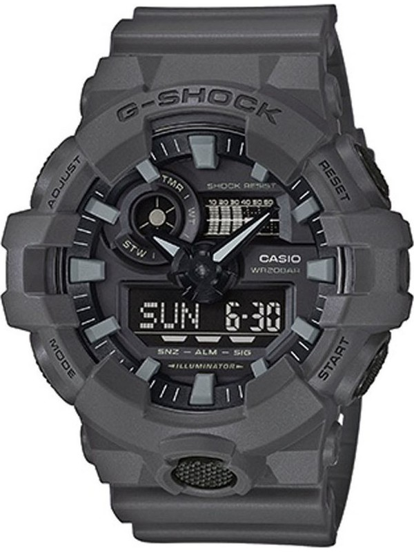 G-SHOCK Anthracite Rubber Strap