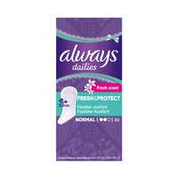ALWAYS DAILIES ΣΕΡΒΙΕΤΑΚΙΑ NORMAL (FRESH SCENT) 30ΤΕΜ